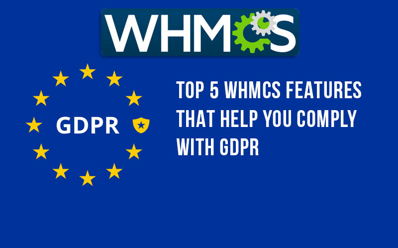 GDPR tools for WHMCS