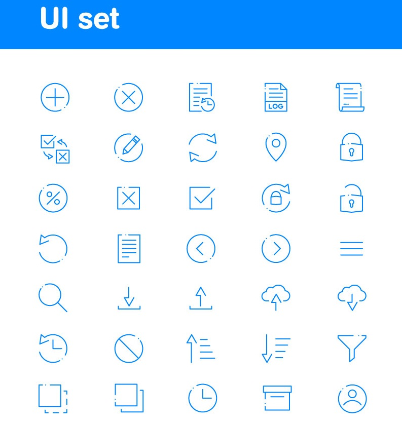 UI-Basics Iconset Template